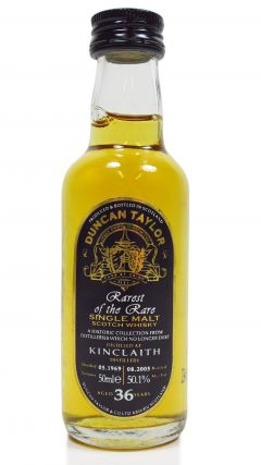 Kinclaith (silent) - Rarest of the Rare Miniature - 1969 36 year old Whisky
