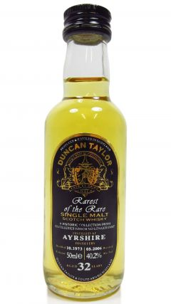 Ayrshire (silent) - Rarest of the Rare Miniature - 1973 32 year old Whisky