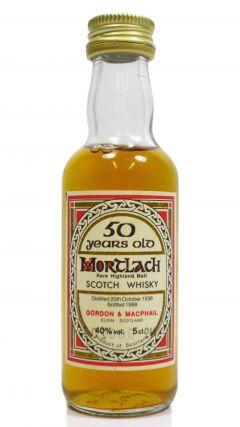 Mortlach - Rare Highland Malt Miniature - 1938 50 year old Whisky