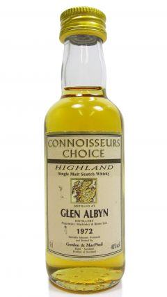 Glen Albyn (silent) - Connoisseurs Choice Miniature - 1972 Whisky