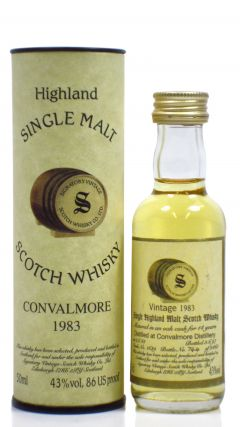 Convalmore (silent) - Single Highland Malt - Miniature - 1983 14 year old Whisky