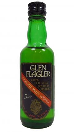 Glen Flagler (silent) - Rare All Malt Scotch Miniature 5 year old Whisky