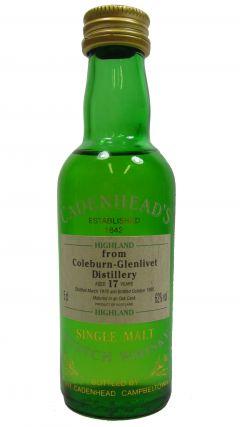 Coleburn (silent) - Single Highland Malt - Miniature - 1961 17 year old Whisky