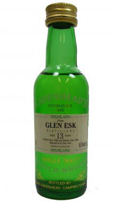 Glenesk (silent) - Single Highland Malt - Miniature - 1982 13 year old Whisky