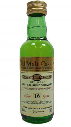 Allt-a-Bhainne - Old Malt Cask Miniature 16 year old Whisky
