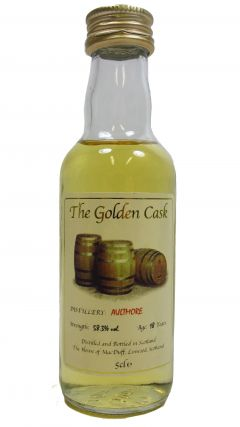 Aultmore - The Golden Cask Miniature 18 year old Whisky