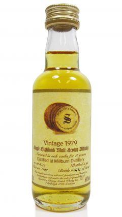 Millburn (silent) - Signatory Vintage Miniature - 1979 16 year old Whisky