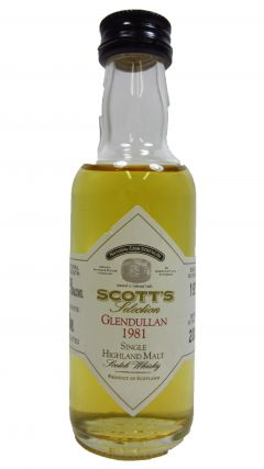 Glendullan - Scotts Selection Miniature - 1981 19 year old Whisky