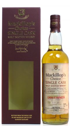 Linlithgow (silent) - Mackillop's Choice - 1982 28 year old Whisky