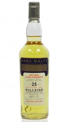 Hillside (silent) - Rare Malts Miniature - 1969 25 year old Whisky