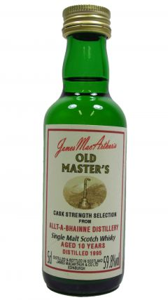 Allt-a-Bhainne - Old Master's Miniature - 1995 10 year old Whisky