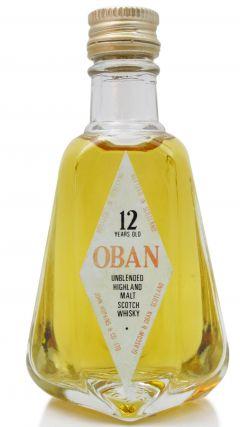 Oban - Single Highland Malt - Miniature 12 year old Whisky