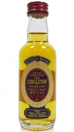 Auchroisk - The Singleton Miniature - 1981 Whisky