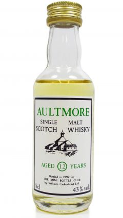 Aultmore - Mini Bottle Club Miniature - 1980 12 year old Whisky