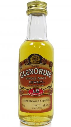 Dewar's - Glenordie Single Malt Miniature 12 year old Whisky