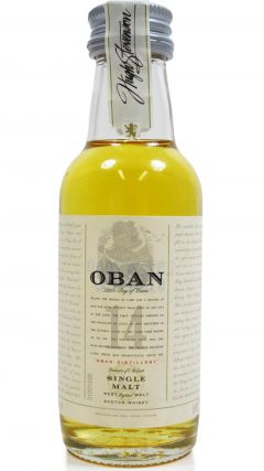 Oban - Single Highland Malt Miniature 14 year old Whisky