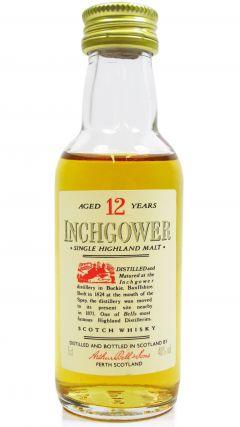 Inchgower - Single Highland Malt - Miniature 12 year old Whisky
