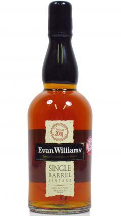 Evan Williams - Single Barrel Vintage - 2001 10 year old Whiskey