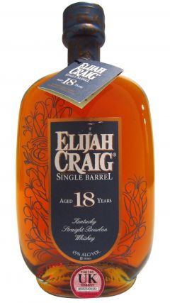 Elijah Craig - Single Barrel #4073 - 1997 18 year old Whiskey