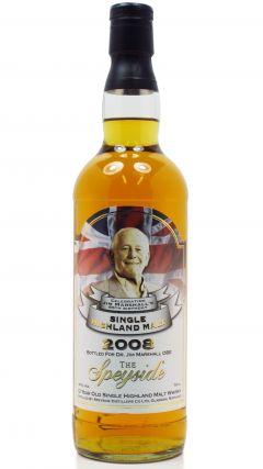 Speyside - Jim Marshall's 85th Birthday - 1996 12 year old Whisky
