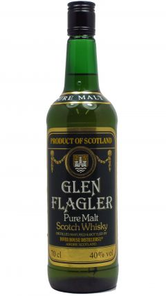 Glen Flagler (silent) - Pure Malt Scotch Whisky 8 year old Whisky