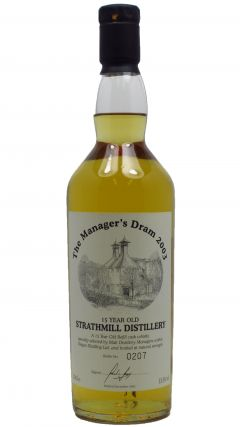 Strathmill - Managers Dram - 1988 15 year old Whisky