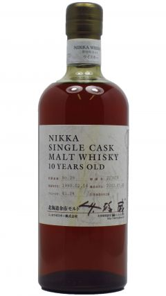 Nikka - Single Cask No. 29 - 1990 10 year old Whisky