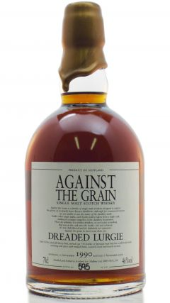 Against The Grain - Dreaded Lurgie - 1990 16 year old Whisky