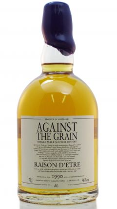 Against The Grain - Raison D'etre - 1990 18 year old Whisky