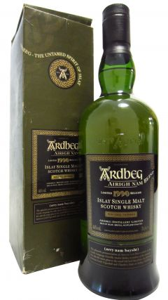 Ardbeg - Airigh Nam Beist 2008 3rd Edition - 1990 18 year old Whisky