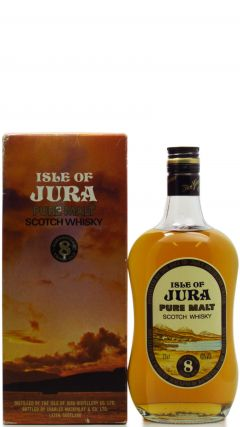 Jura - Pure Malt Scotch (old bottling) 8 year old Whisky