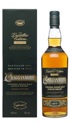 Cragganmore - Distiller's Edition 2019 - 2007 12 year old Whisky