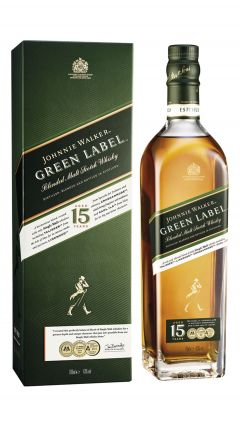 Johnnie Walker - Green Label - Blended Malt  15 year old Whisky