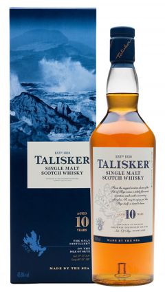 Talisker - Single Malt Scotch 10 year old Whisky