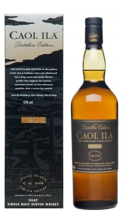 Caol Ila - Distiller's Edition - 2004 12 year old Whisky