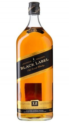 Johnnie Walker - Black Label Blended Scotch  (1.5 Litre) 12 year old Whisky