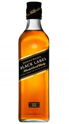 Johnnie Walker - Black Label Blended Scotch (35cl Gift Box) 12 year old Whisky
