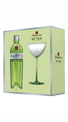 Tanqueray - No. TEN Gift Pack With Coupette Glass Gin