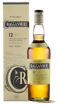 Cragganmore - Classic Malts Of Scotland Speyside Single Malt 12 year old Whisky