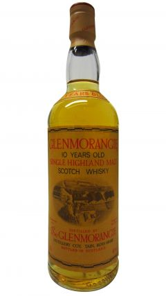 Glenmorangie - Highland Single Malt (old bottling) 10 year old Whisky