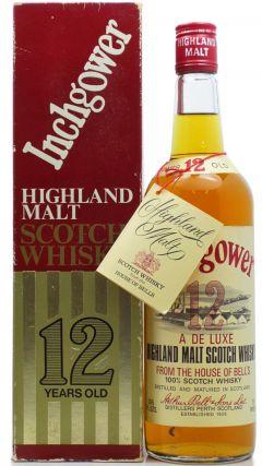Inchgower - Highland Single Malt 1970's 12 year old Whisky