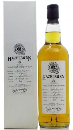 Hazelburn - Springbank Society 1st Edition - 1998 8 year old Whisky