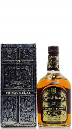 Chivas Regal - Blended Scotch (old bottling) 12 year old Whisky