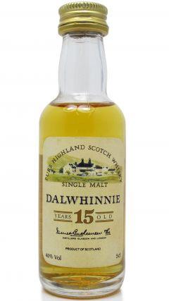 Dalwhinnie - Single Highland Malt Miniature 15 year old Whisky
