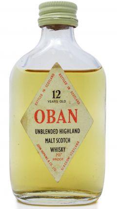 Oban - Highland Single Malt Miniature 12 year old Whisky