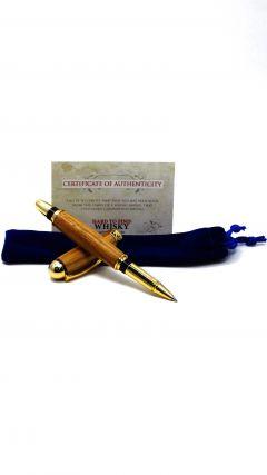 Glenfiddich Whisky Cask Wood Rollerball Pen