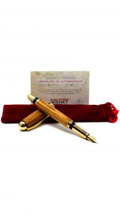 Glenfiddich Whisky Cask Wood Fountain Pen