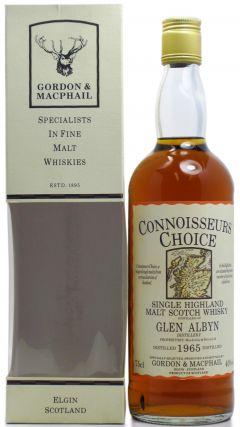 Glen Albyn (silent) - Connoisseurs Choice - 1965 Whisky