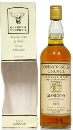 Glenlochy (silent) - Connoisseurs Choice - 1977 20 year old Whisky