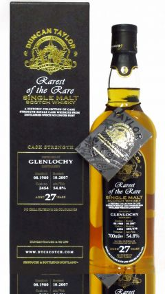 Glenlochy (silent) - Rarest of the Rare - 1980 27 year old Whisky